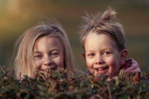 niños sonrisa